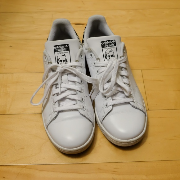 12e5edf25b6a8 adidas Shoes - Unisex Stan Smith Adidas Zebra Print